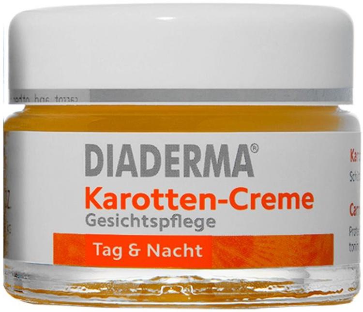 Diaderma Karotten-Creme Gesichtspflege Tag & Nacht
