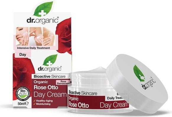 Dr Organic Rose Day Cream