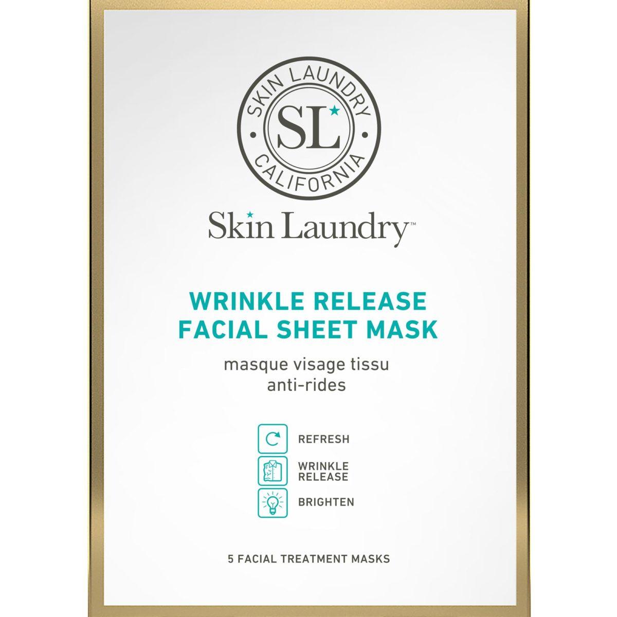 Skin Laundry Wrinkle Release Facial Sheet Mask