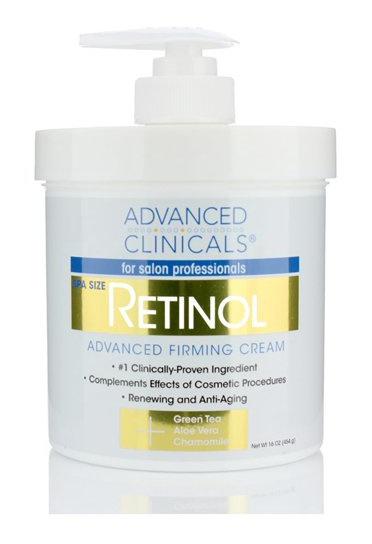 Advanced Clinicals Retinol Advanced Firming Cream