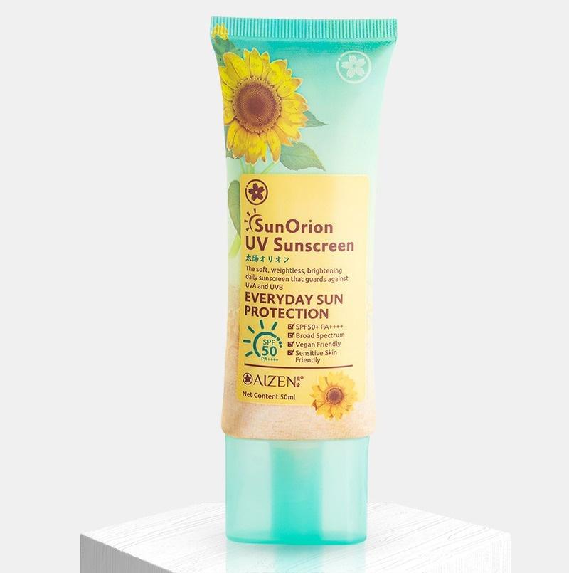 Aizen Sunorion Uv Sunscreen