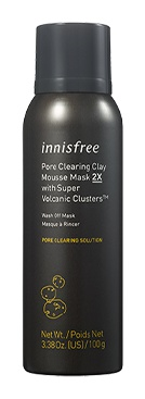 innisfree Super Volcanic Clusters Pore Clearing Clay Mousse Mask