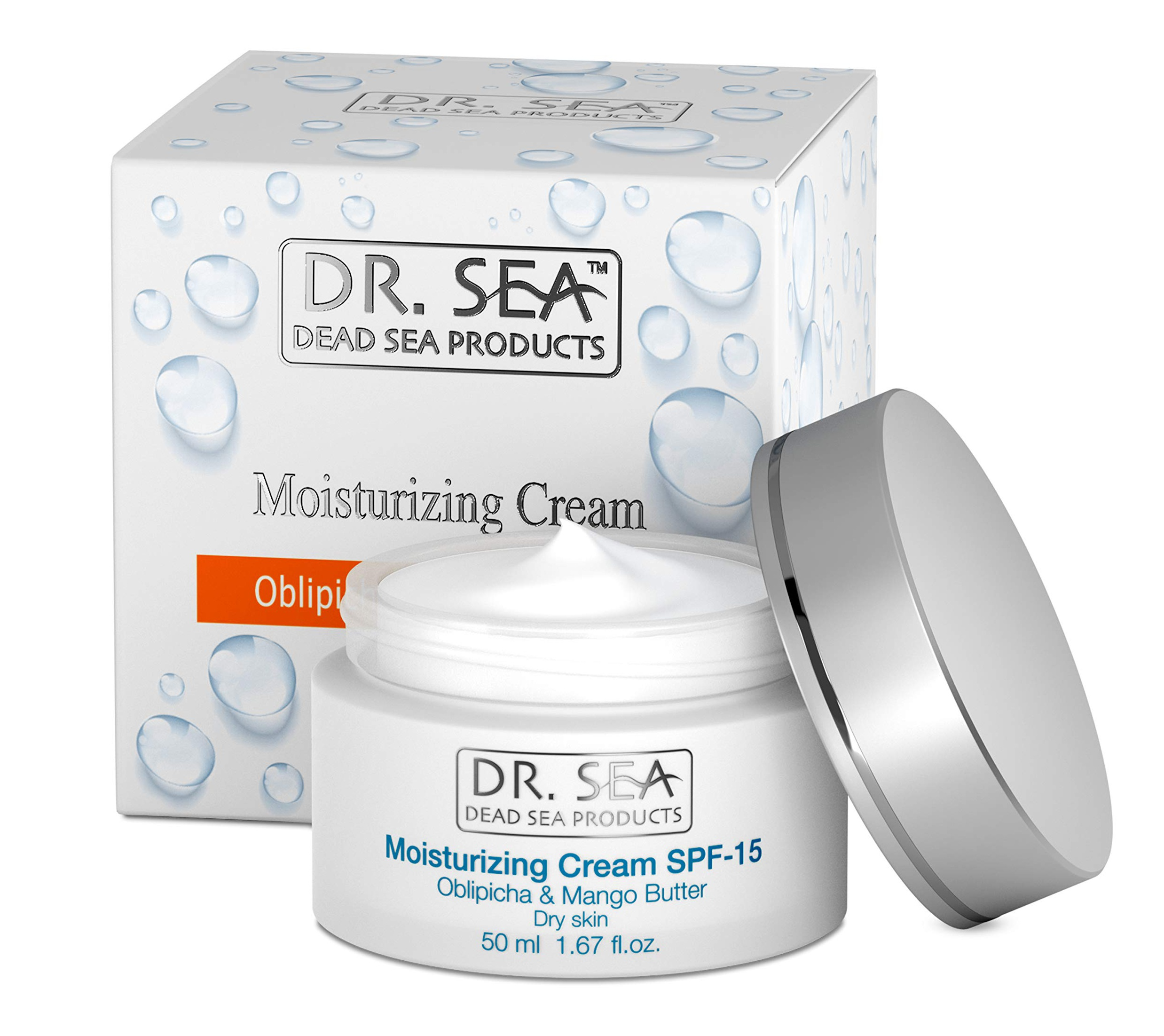 DR. SEA Moisturizing Cream Oblipicha & Mango For Dry Skin
