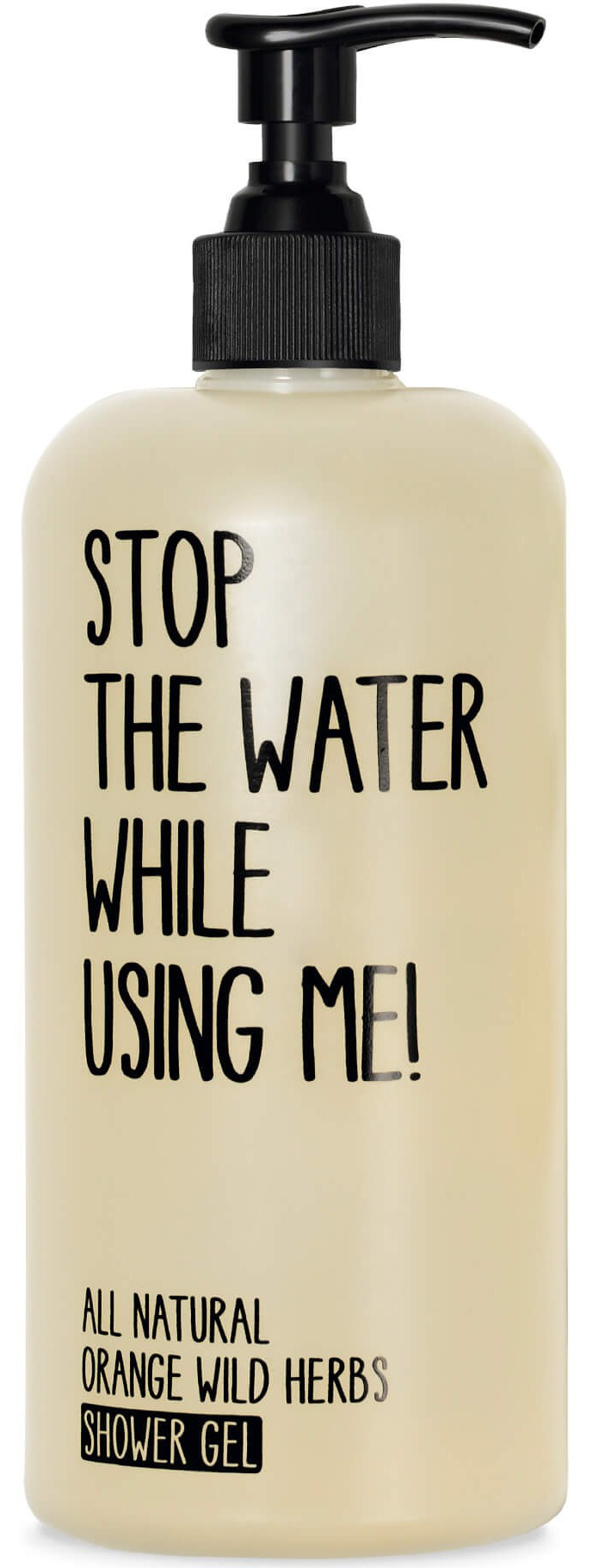 STOP THE WATER WHILE USING ME! Douchegel Orange Wild Herbs