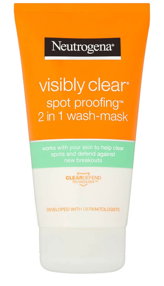 Neutrogena Visibly Clear Spot Proofing 2 In 1 Wash Mask