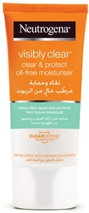 Neutrogena Visibly Clear Clear & Protect Oil Free Moisturizer