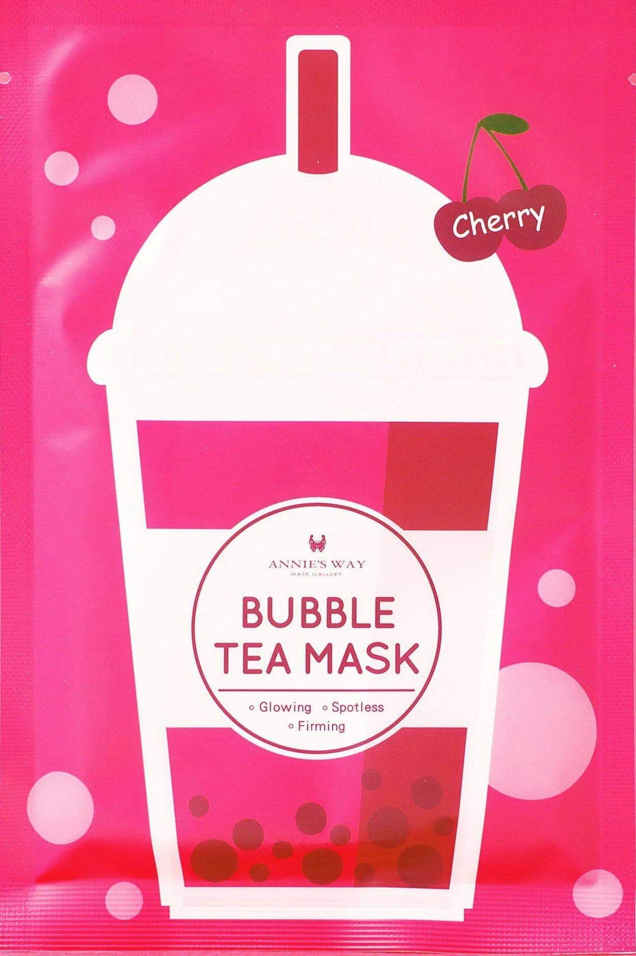 Annie's Way Cherry Bubble Tea Mask