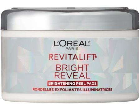 L'Oreal Revitalift Bright Reveal Peel Pads 30 Pads