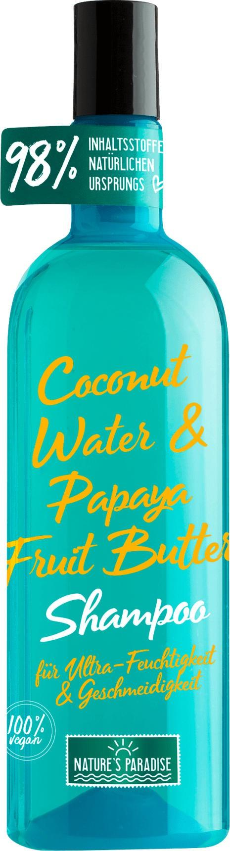 Nature's Paradise Shampoo Feuchtigkeit Und Geschmeidigkeit Coconut & Papaya