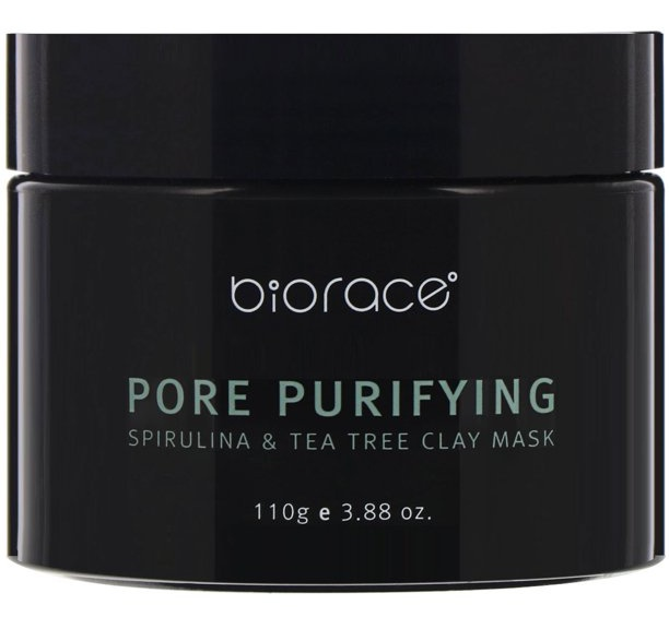 Biorace Pore Purifying Spirulina And Tea Tree Clay Mask