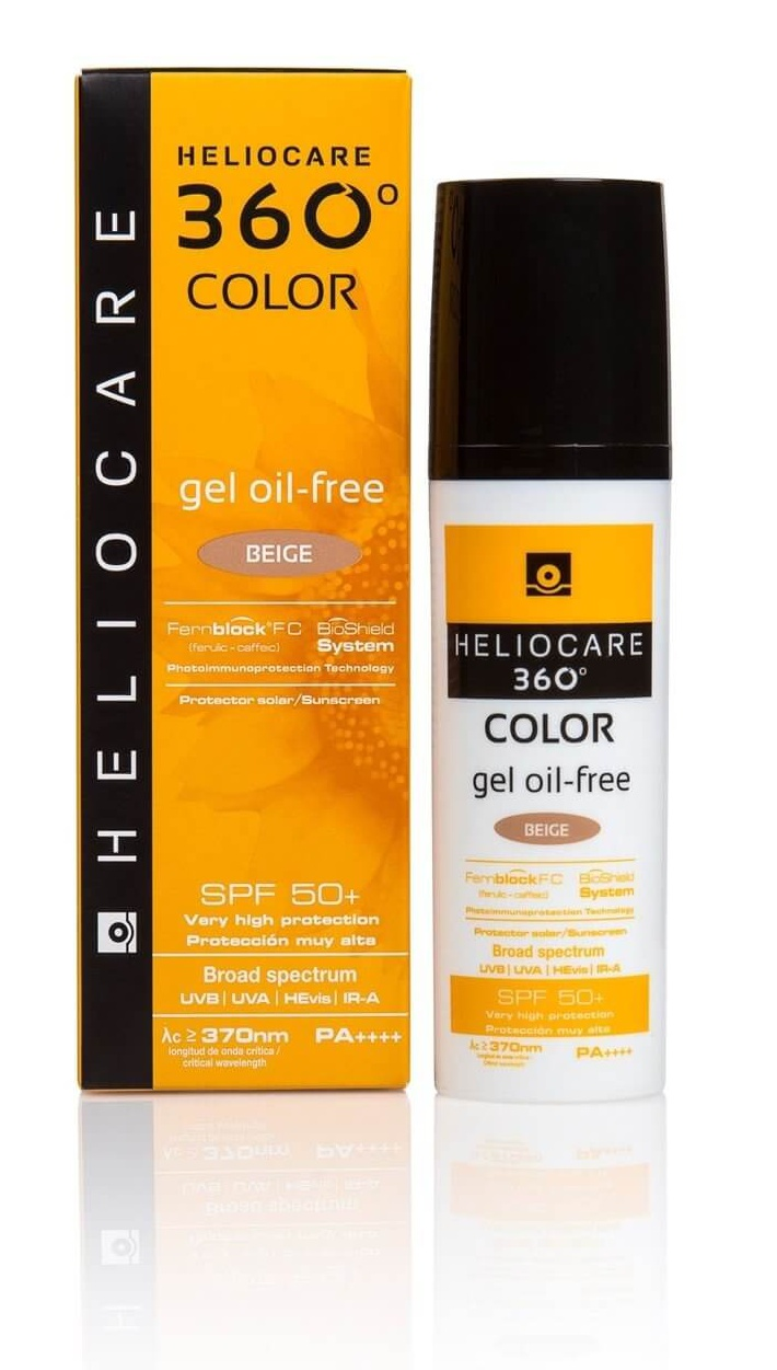 Heliocare 360 Color Gel Oil Free spf 50