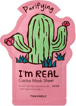 TonyMoly I'm Real Cactus Sheet Mask