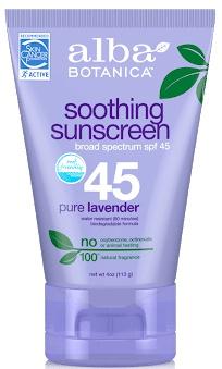 Alba Botanica Soothing Sunscreen