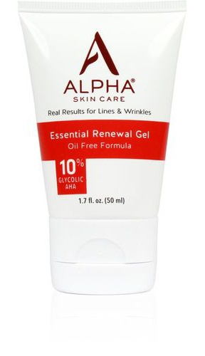 Alpha Skin Care Essential Renewal Gel With 10% Aha