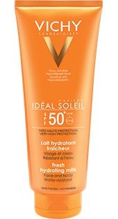 Vichy Ideal Soleil Face & Body Hydrating Milk Spf 50