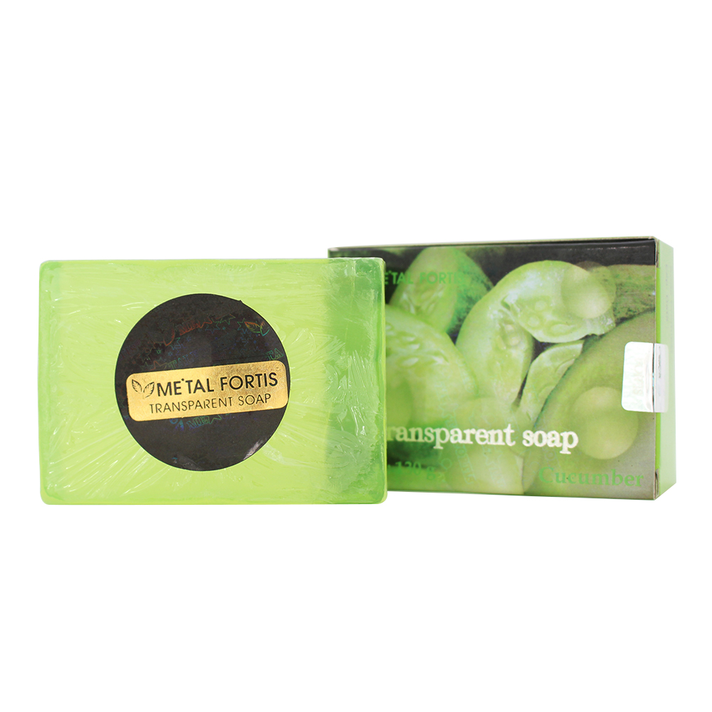 Metal Fortis Transparent Soap Cucumber