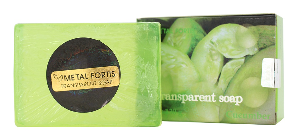 Metal Fortis Transparent Soap Cucumber