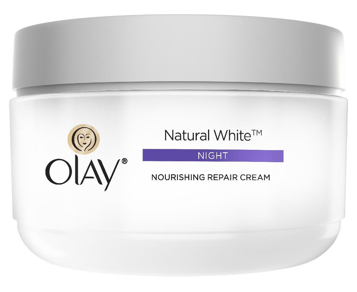 Olay Natural White 7 In One Night Nourishing Repair Cream