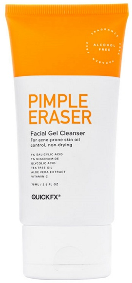 Quickfx Pimple Eraser Facial Gel Cleanser