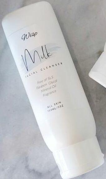 Wisp Botanicals Milk Facial Cleanser