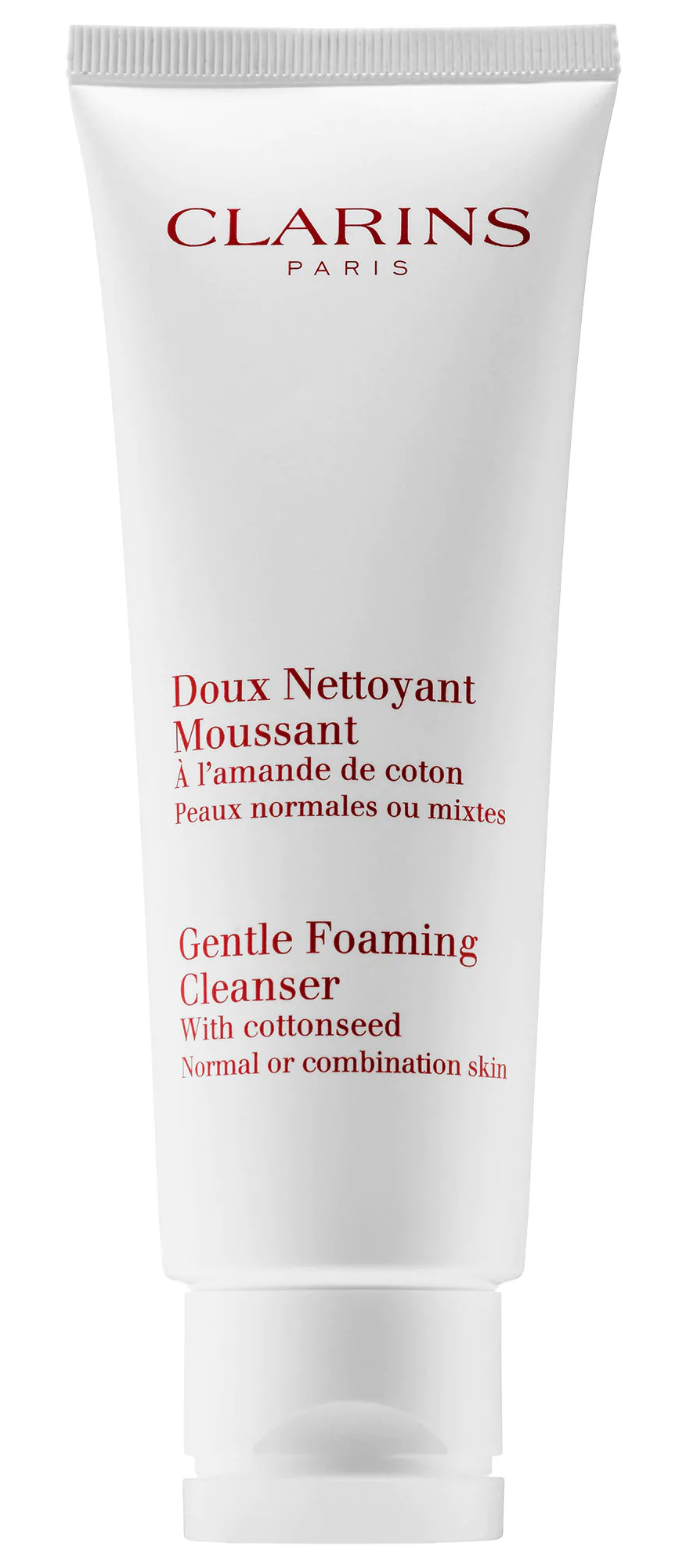 "Clarins Gentle Foaming Cleanser With Cottonseed ""Normal/Combination Skin"""
