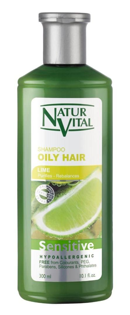 Naturvital Sensitive Shampoo (For Oily Hair)