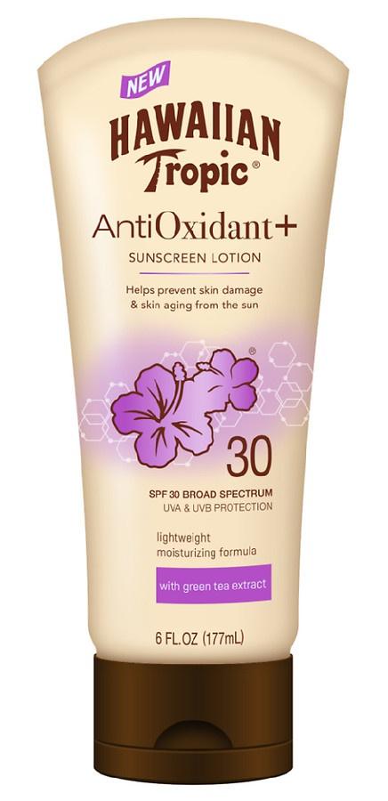 Hawaiian Tropic Antioxidant + Sunscreen Lotion
