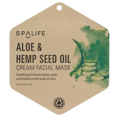 Spalife Aloe And Hemp Seed Oil Mask