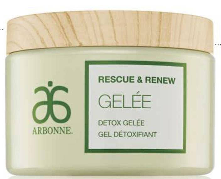 Arbonne Rescue & Renew Detox Gelée