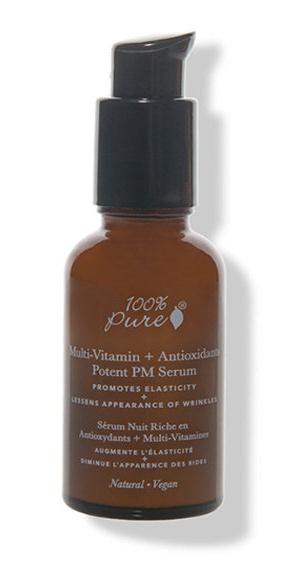 100% Pure Sérum De Noche Multi-Vitamin + Antiox