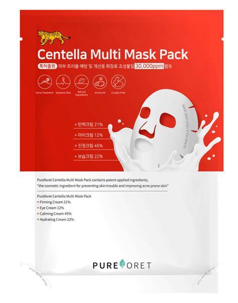 Pureforet Centella Multi Mask Pack Set