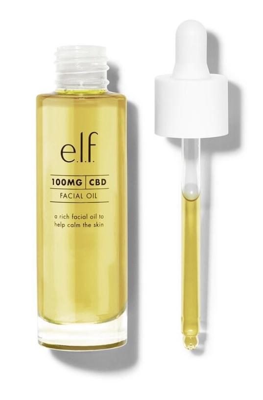 e.l.f. 100 Mg Cbd Facial Oil