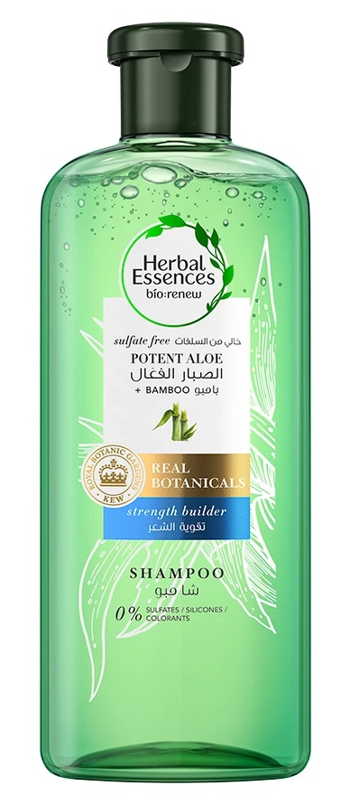 Herbal Essences Potent Aloe Vera + Bamboo Shampoo For Hair Strengthening