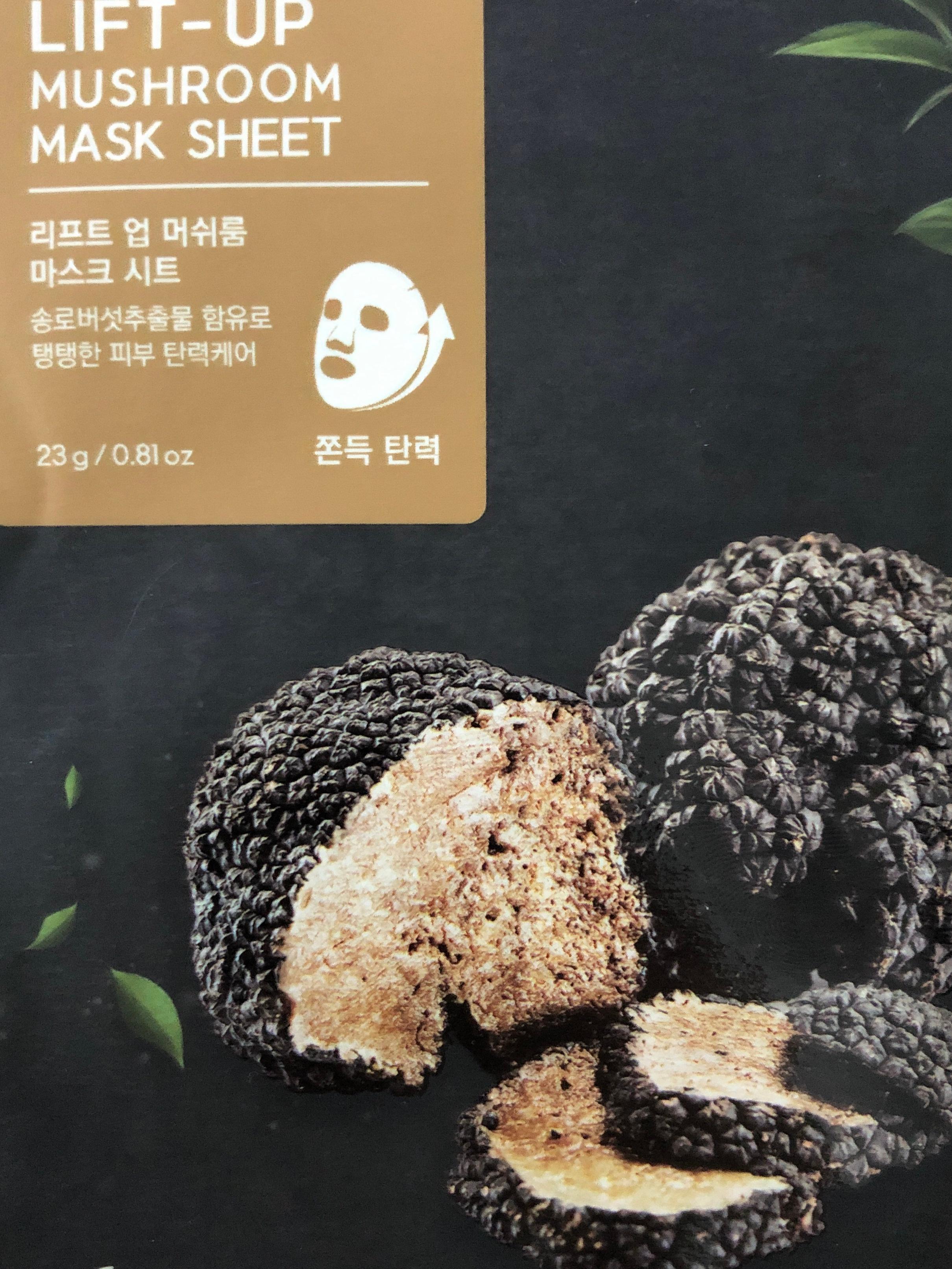 Elishacoy Lift-Up Mushroom Mask Sheet