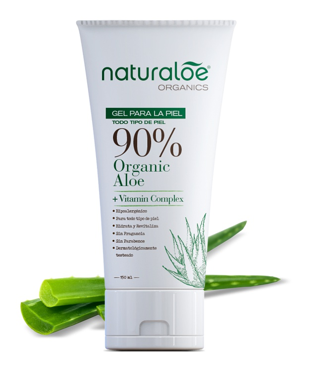 Naturaloe Organics Gel Para La Piel
