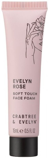 Crabtree & Evelyn Evelyn Rose Soft Touch Face Foam