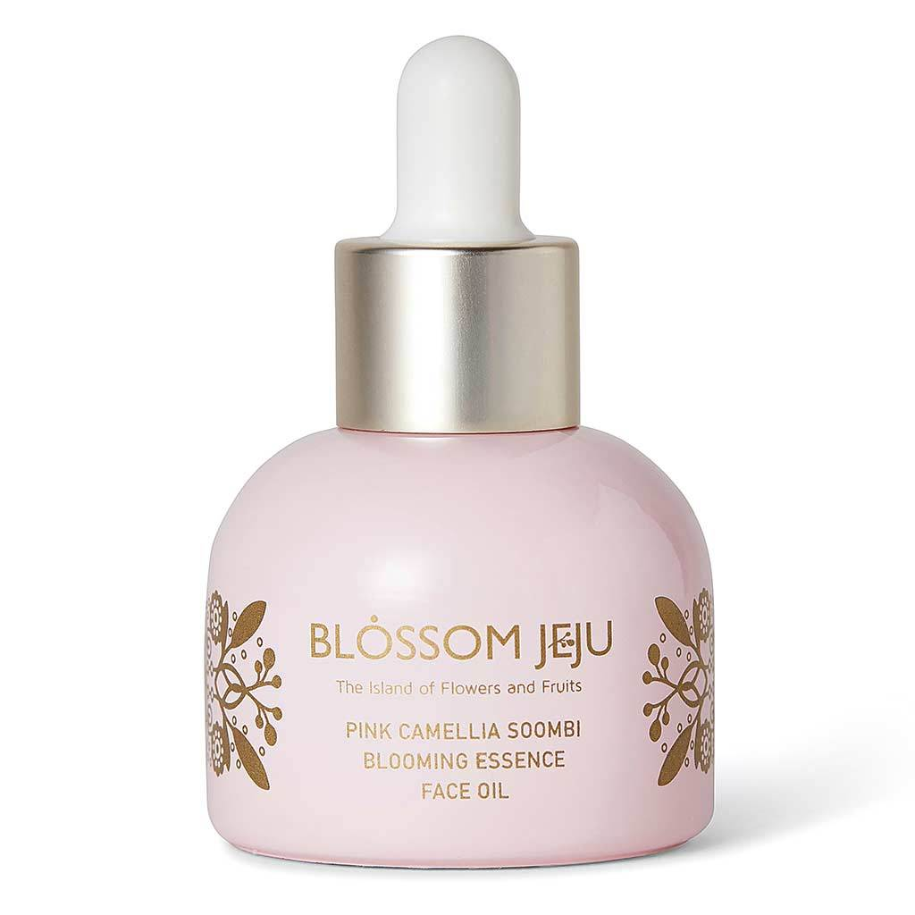 Blossom Jeju Pink Camellia Soombi Blooming Essence Face Oil