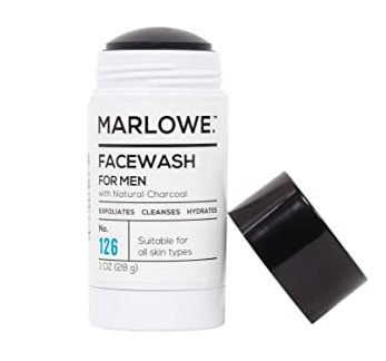 Marlowe No. 126 Charcoal Face Wash Cleansing Stick
