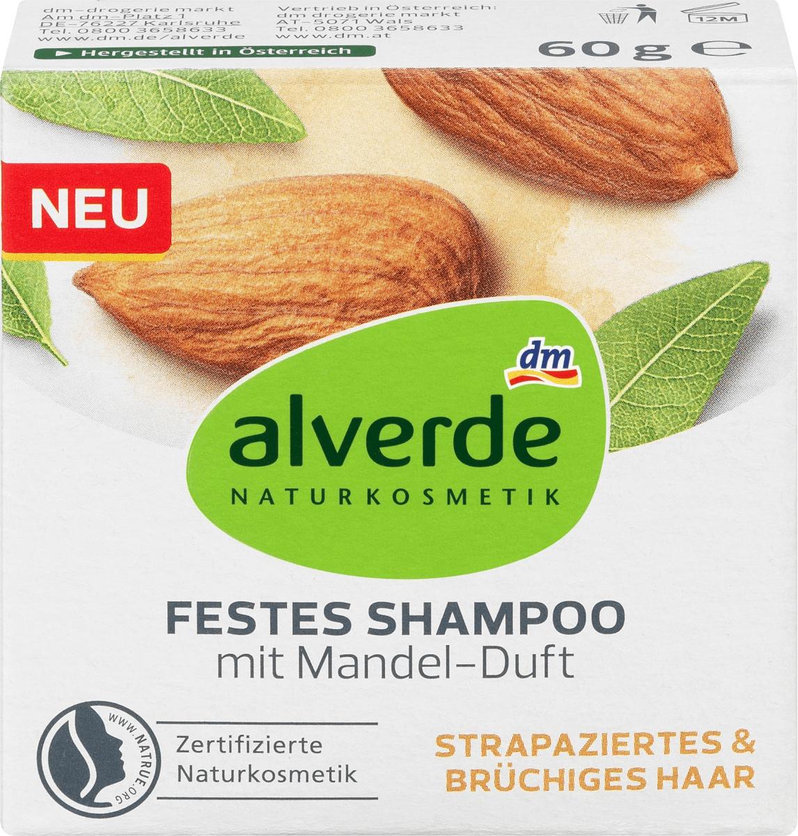 Alverde Naturkosmetik Festes Shampoo