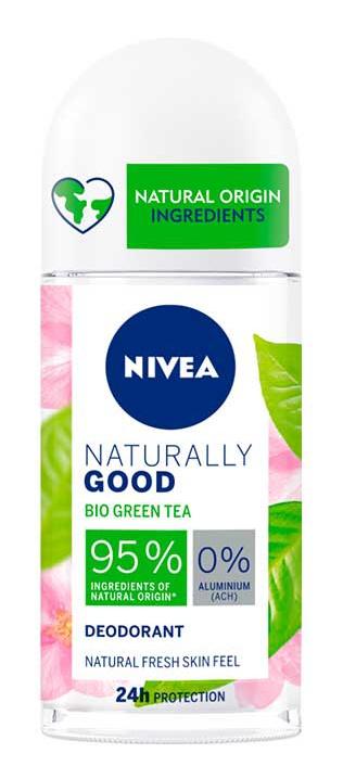 Nivea Naturally Good Bio Chá Verde Roll-On