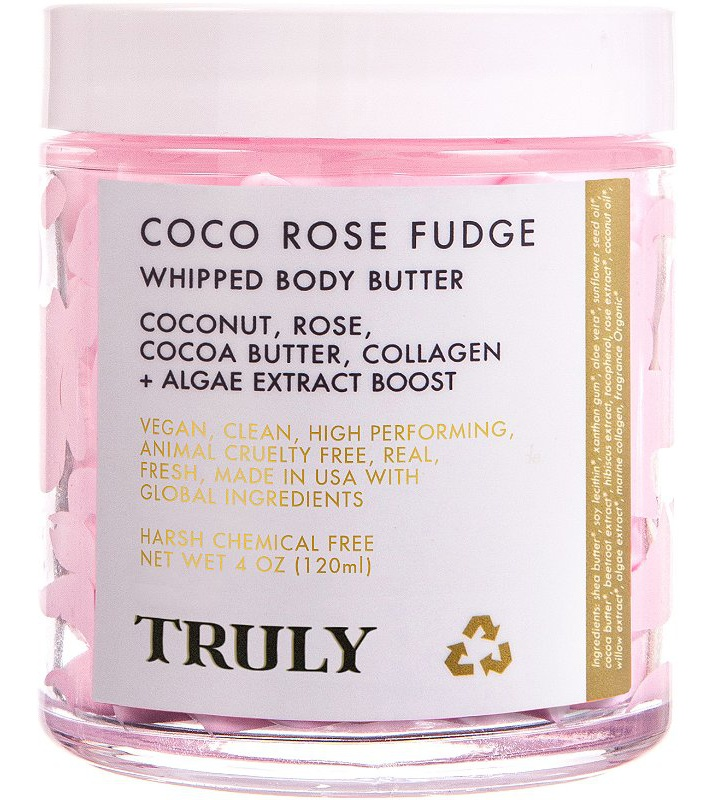 Truly Beauty Truly  Coco Rose Fudge Body Butter