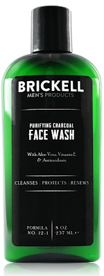 Brickell Men's Products Purifying Charcoal Face Wash For Men