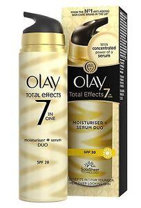 Olay Total Effects Spf20 7-In-1 Moisturiser & Serum Duo