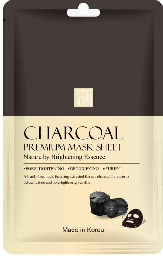 JOSSLYN Charcoal Premium Mask Sheet