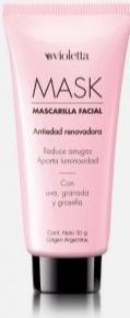 Violetta Mascarilla Facial Antiedad Renovadora Mask