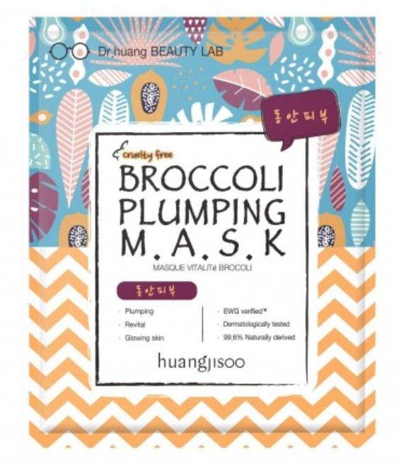 huangjisoo Broccoli Plumping Sheet Mask