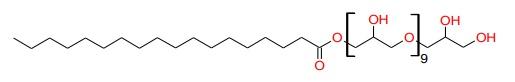 Polyglyceryl-10 Stearate