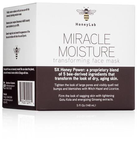 Honey Lab Miracle Moisture Transforming Face Mask