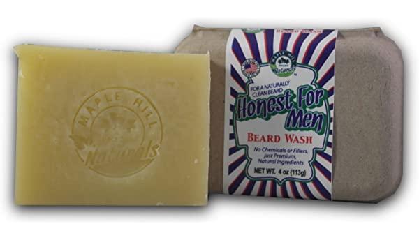 Maple Hills Naturals Honest For Men Original Scent Beard Wash