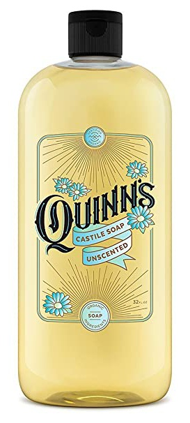 Quinns Unscented Castile Liquid Soap